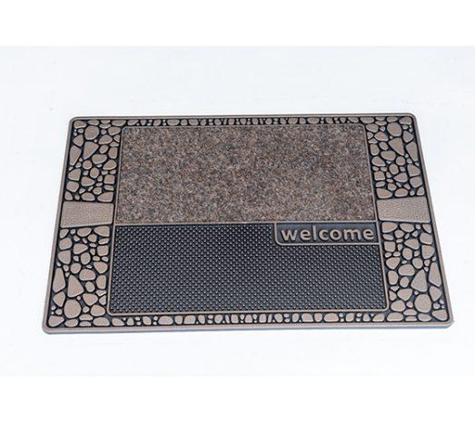 שטיח סף לכניסה סטון אבנים חום בז