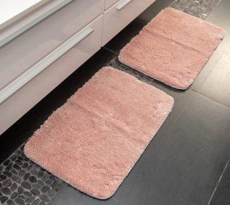 שטיח סקוט לאמבטיה ורוד