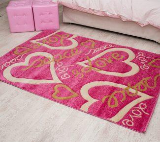 שטיח קידס 8C33A לבבות