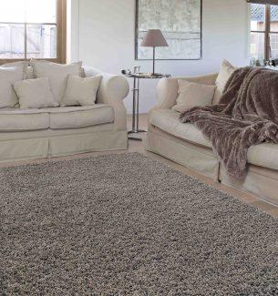 שטיח שאגי קוויבק אפור בהיר