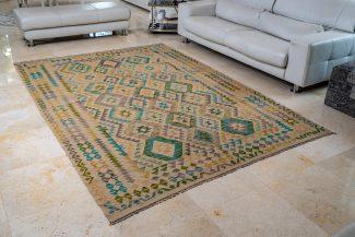 שטיח קילים צבעוני בעבודת יד (1053)