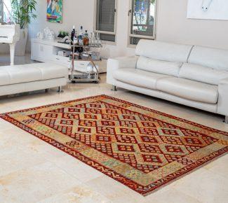 שטיח קילים צבעוני בעבודת יד (1315)