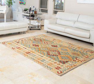 שטיח קילים צבעוני בעבודת יד (1319)