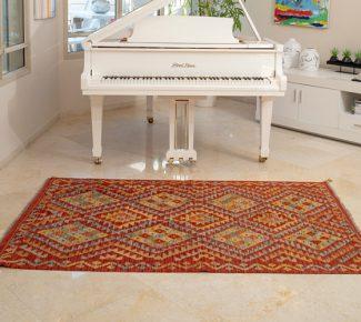 שטיח קילים צבעוני בעבודת יד (1477)