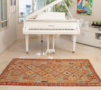 שטיח קילים צבעוני בעבודת יד (1478)