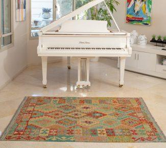 שטיח קילים צבעוני בעבודת יד (1479)