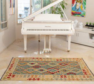 שטיח קילים צבעוני בעבודת יד (1480)