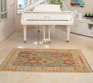 שטיח קילים צבעוני בעבודת יד (1482)