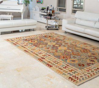 שטיח קילים צבעוני בעבודת יד (1565)