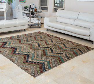 שטיח קילים צבעוני בעבודת יד (198)