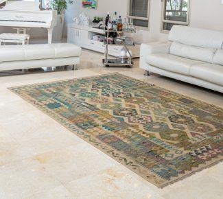 שטיח קילים צבעוני בעבודת יד (289)