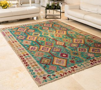 שטיח קילים צבעוני בעבודת יד (311)