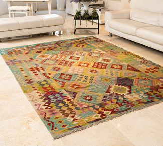 שטיח קילים צבעוני בעבודת יד (313)