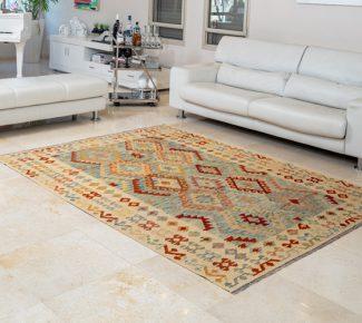 שטיח קילים צבעוני בעבודת יד (336)