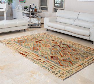 שטיח קילים צבעוני בעבודת יד (350)