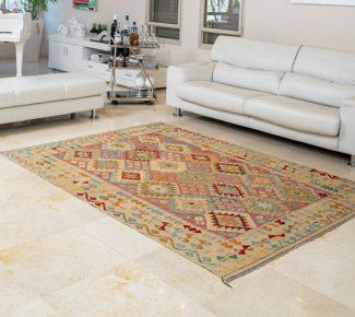 שטיח קילים צבעוני בעבודת יד (354)