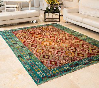 שטיח קילים צבעוני בעבודת יד (427)