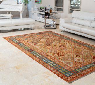 שטיח קילים צבעוני בעבודת יד (452)