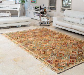 שטיח קילים צבעוני בעבודת יד (468)