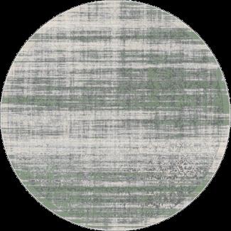 שטיח פלורנס עגול- 6012A ירוק