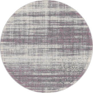 שטיח פלורנס עגול- 6012A סגול
