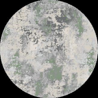 שטיח פלורנס עגול- 6023A ירוק