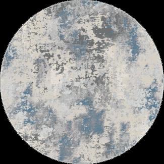 שטיח פלורנס עגול- 6023A כחול