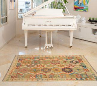 שטיח קילים צבעוני בעבודת יד (626)