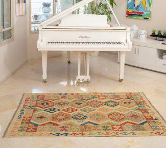 שטיח קילים צבעוני בעבודת יד (627)