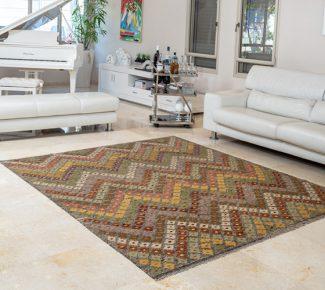 שטיח קילים צבעוני בעבודת יד (833)