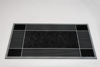 שטיח סף סופר מחצלת לכניסה לבניין - אפור