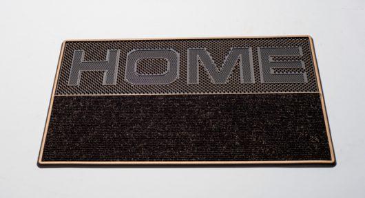 שטיח סף סופר מחצלת HOME BROWN