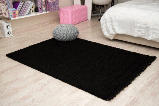 שטיח שאגי קוויבק שחור
