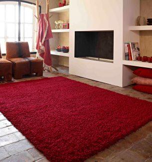 שטיח שאגי קוויבק אדום