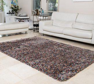שטיח פלופי שאגי צבעוני (JELLY BEAN)