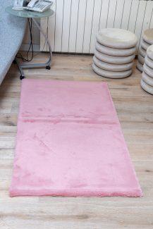 שטיח פוליאסטר שאגי ורוד