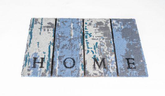 שטיח סף לכניסה פנטזיה - HOME כחול