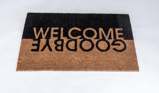 שטיח סף לכניסה פנטזיה - Welcome Goodbye
