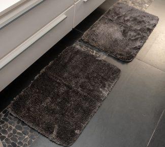 שטיח סקוט לאמבטיה אפור כהה