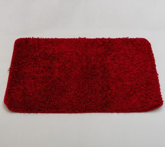 שטיח סופט לאמבטיה אדום