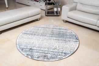 שטיח פלורנס עגול- 6012A כחול