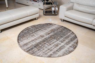 שטיח פלורנס עגול- 6012A זהב