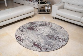 שטיח פלורנס עגול- 6023A סגול