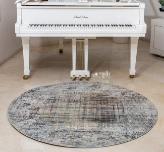 שטיח אייסי 6889A עגול