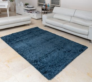 שטיח קידס שאגי כחול