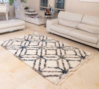 שטיח אולטרה שאגי מרוקאי 4123-31