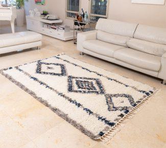 שטיח אולטרה שאגי מרוקאי 44024-31
