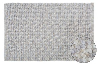 שטיח יעל לאמבטיה - אפור בהיר בז 50/80