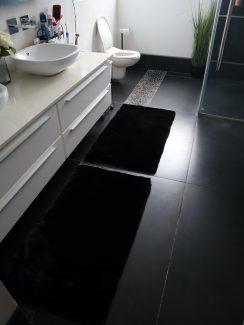 ניו יורק שאגי לאמבטיה - שחור